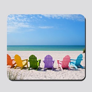 Summer Beach Mousepad